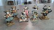 COWTOWN Collectible Plate/Figurine FIGURES